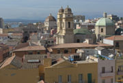 Cagliari, Blick Richtung Westen