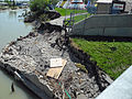 Calgary bike path on Elbow River washed out after 2013 flood.jpg