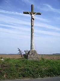 Calvaire entre Nibas et Saucourt, Somme, 2006.jpg
