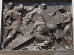 Calvary of Karl I of Austria. Station 9. Jesus falls the third time. - Tihany.JPG
