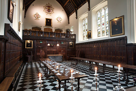 The Main Hall at Christ's College Cambridge - Christ's College - 1479.jpg