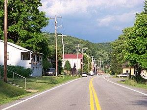 Camden-on-Gauley, West Virginia - Central Camden-on-Gauley