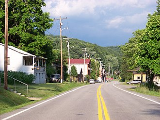 Camden-on-Gauley, West Virginia - Central Camden-on-Gauley