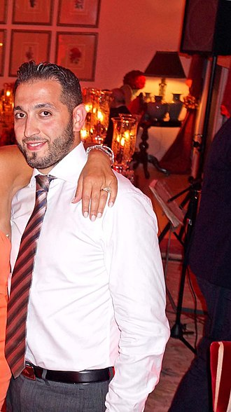 Elissa (Lebanese singer) - Camil Zakaria Khoury (Elissa's brother) with whom the singer has collaborated artistically multiple times