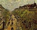 Camille Pissarro - Boulevard Montmartre, printemps - Israel-Museum.jpg