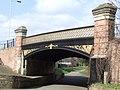 Canal bridge, Willowbrook Road - geograph.org.uk - 1741943.jpg