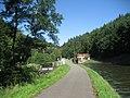Canal de la Marne au Rhin, écluse 26. Lock nr. 26 in the Rhine Marne canal west of Saverne, France. - panoramio.jpg