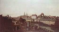 برناردو بلوتو: The Old Fortifications in Dresden