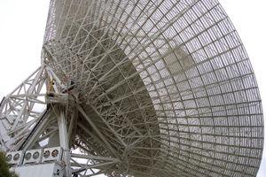 Canberra Deep Space Communication Complex - 70m telescope at the Canberra Deep Space Communication Complex