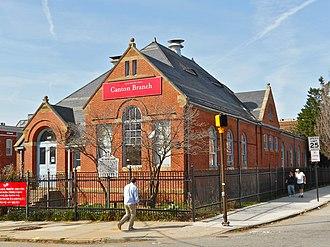 Canton, Baltimore - Enoch Pratt Free Library branch