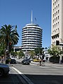 Capitol Records building, Hollywood-Vine - panoramio.jpg