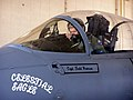 Capt. Todd Pearson pre-flights an F-15 Eagle before the Celestial Eagle Remembrance Flight. .jpg