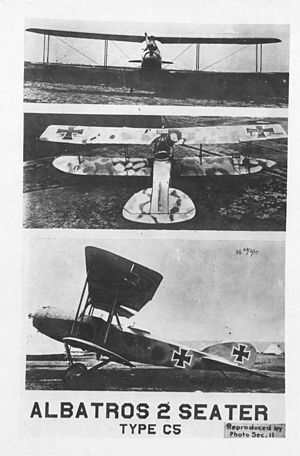 Captured Third Army German Albatros C.V - Full.jpg