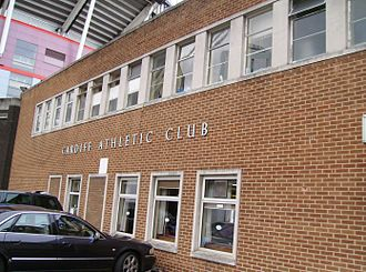 Cardiff Athletic Club - Cardiff Athletic Club, adjacent to the Millennium Stadium.