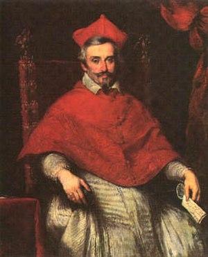 Federico Baldissera Bartolomeo Cornaro - Painting of Cardinal Cornaro by Bernardo Strozzi (c. 1640)