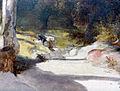 Carl Blechen, Weg nach Castel Gandolfo (Detail2).jpg
