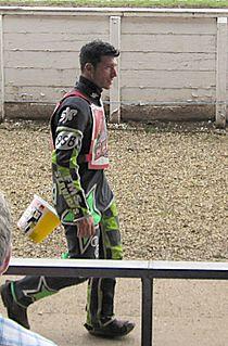 Carl Wilkinson British speedway rider