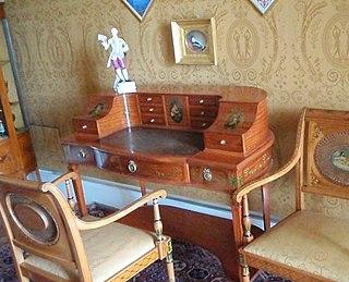 Carlton House desk type of writing desk