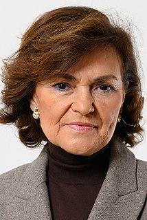 Carmen Calvo Spanish politician
