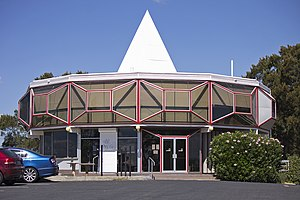 Red Hill, Australian Capital Territory - The restaurant on Red Hill was built in 1964 and has views over Canberra