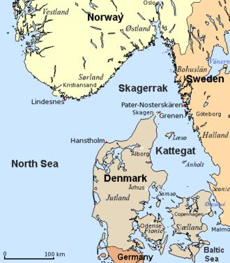 Kattegat - Kattegat and Skagerrak
