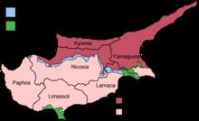 Chypre Ville Carte.Villes De Chypre Wikipedia