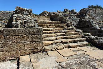 San Roque, Cádiz - Roman forum, Carteia