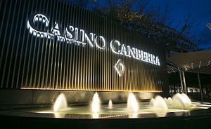Crown casino hotel canberra aspinalls casino poker