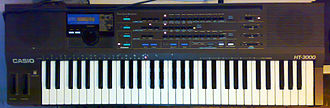 Casio SD Synthesizers - The Casio HT3000
