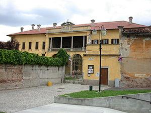 Castano Primo - Palazzo Rusconi, now home of the City Council.