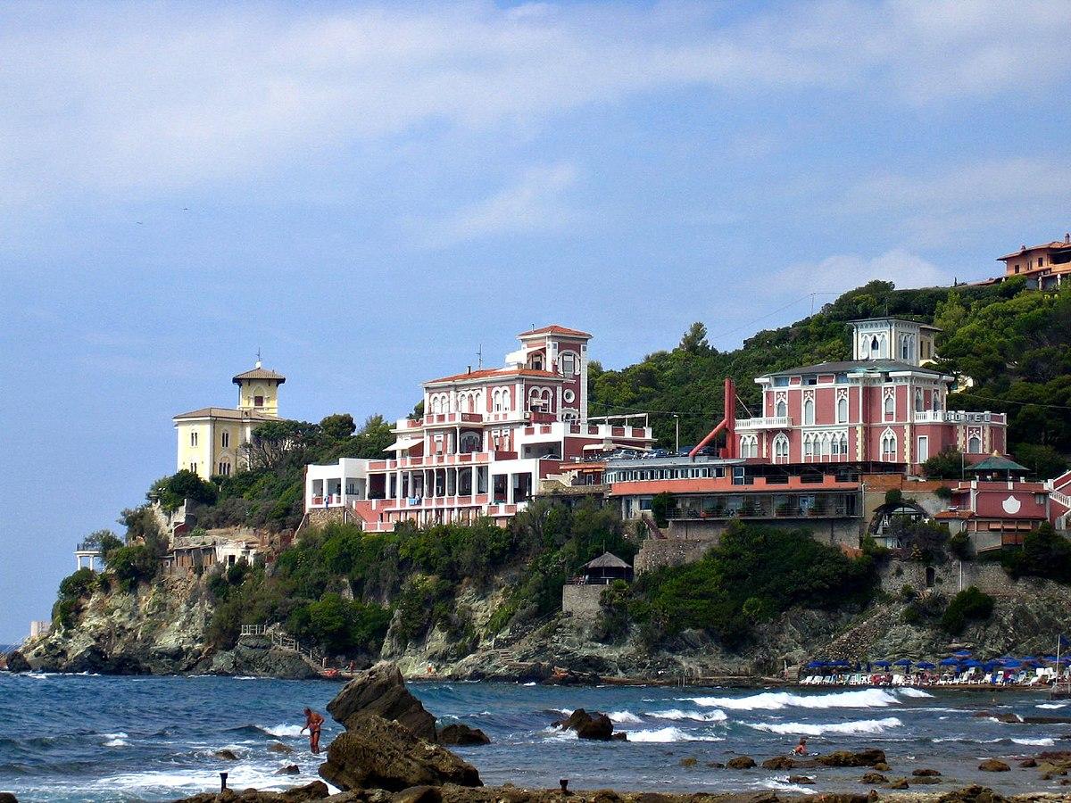 Castiglioncello hotel leopoldo mare toscana