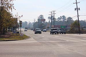 Castle Hayne, North Carolina - Central junction of Castle Hayne, North Carolina