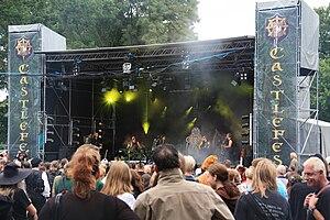 Castlefest - Omnia performing at Castlefest 2009