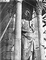 Cathédrale Notre-Dame - Contrefort de la tour sud, statue de saint Pierre - Reims - Médiathèque de l'architecture et du patrimoine - APMH00030557.jpg