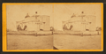 Cathedral access from the Military Plaza, San Antonio, Texas, from Robert N. Dennis collection of stereoscopic views.png