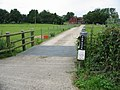 Cattle grid protected road to The Nook - geograph.org.uk - 860276.jpg
