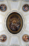 Ceiling of Honour Grand Staircase in the Palace of Caserta.jpg