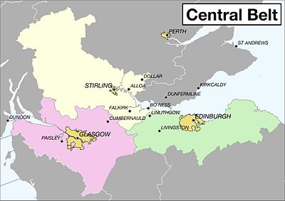Central Belt (Scotland) – Travel guide at Wikivoyage on map of jordan with cities, map of cyprus with cities, map of belarus with cities, map of uganda with cities, map of oman with cities, detailed map of scotland showing all cities, map of qatar with cities, map of lebanon with cities, map of vanuatu with cities, map of ethiopia with cities, map of mozambique with cities, map of luxembourg with cities, map of aruba with cities, map of germany with cities, map of northern europe with cities, map of singapore with cities, map of ancient rome with cities, map of rwanda with cities, map of fiji with cities, map of persia with cities,