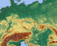 Central Europe relief map with waterbodies and borders.png