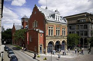 Centre d'histoire de Montréal - The exterior of the Centre d'histoire de Montréal