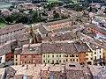 Centro storico di Brisighella visto dalla torre dell'orologio.jpg