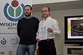 Ceremonia de entrega de premios Wiki Loves Monuments España 2014 - 16.jpg