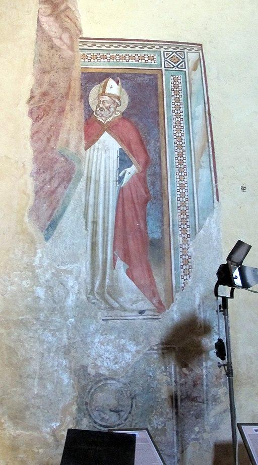 Certaldo alta, Chiesa dei Santi Tommaso e Prospero, santo del XIV secolo