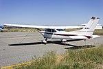 Cessna 182Q Skylane (VH-SHN) parked on the tarmac at Wagga Wagga Airport.jpg