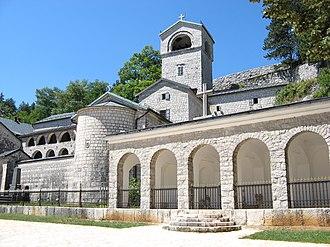 Cetinje Monastery - Image: Cetinje monastery