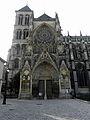 Châlons-en-Champagne (51) Cathédrale Saint-Étienne Façade septentrionale 02.JPG