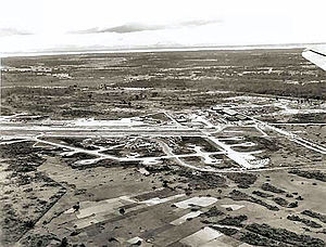 Chabua Air Force Station - The base in 1944