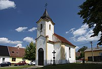 Chapel in Klec village in 2011 (2).JPG