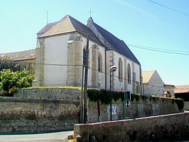 The church of Saint-Nicolas, in Chapelle-en-Vexin