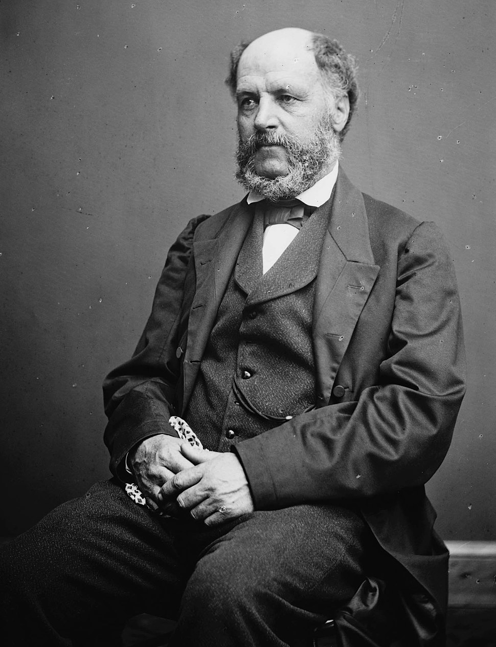 Charles Benedict Calvert - photo portrait seated